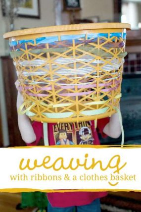 Learn to Weave & Pattern With a Clothes Basket