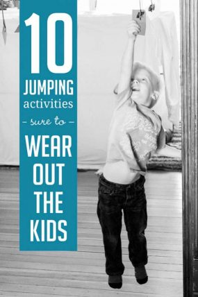 10 Jumping Activities Sure to Wear Out the Kids