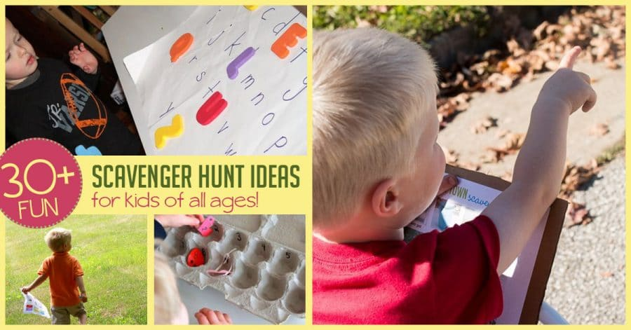 30+ Scavenger Hunt Ideas for Kids To Do at Any Age   HOAWG