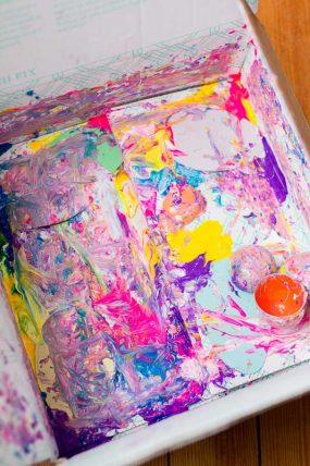 Shake, Shake, Shake to Make Art!