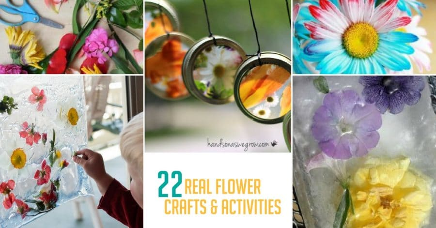 Real flower crafts activities for kids hands on as we grow mightylinksfo