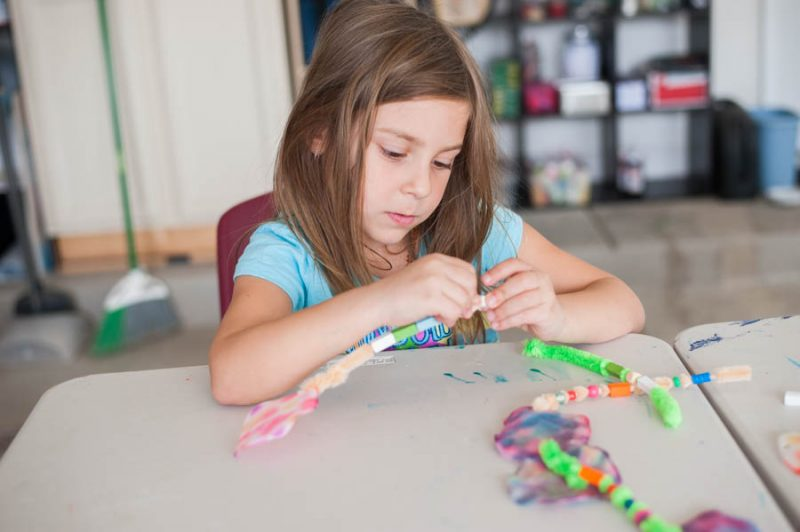 Try this crazy fun glue craft kids will love.