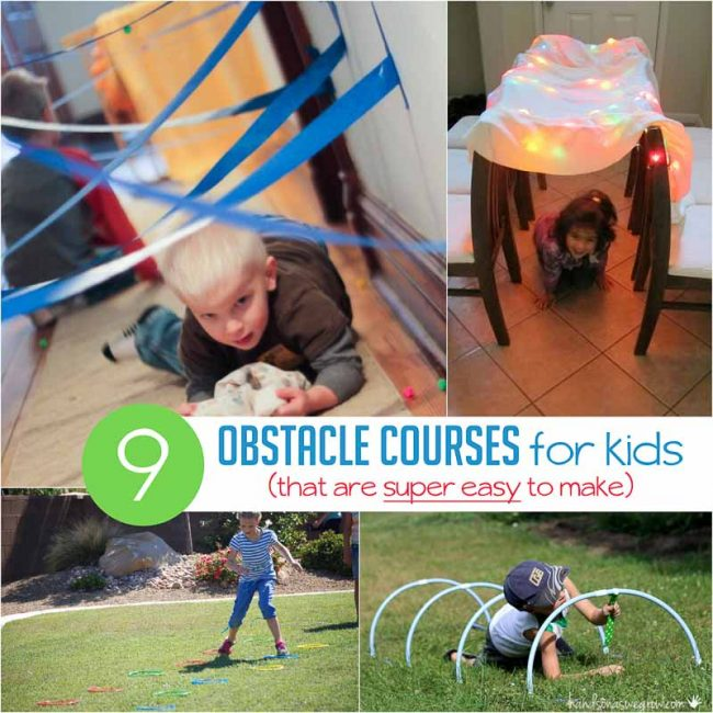 Obstacle Course for Kids: Ideas that are Super Simple