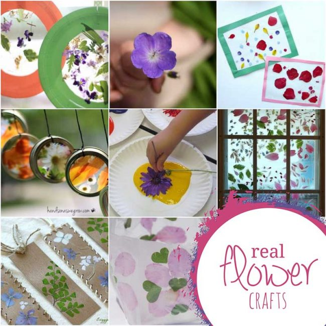 Flower Crafts Art Projects For Kids