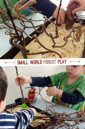 Small World Forest Play for Toddlers & Preschoolers