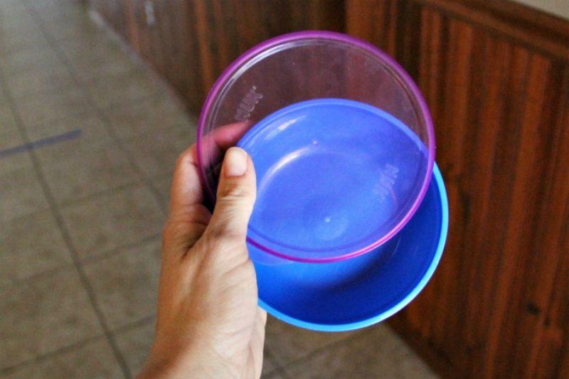 Bowl lids for frisbee toss