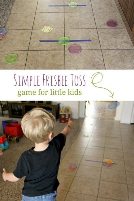 Simple lid frisbee toss game for kids hands on as we grow for Simple motors for kids
