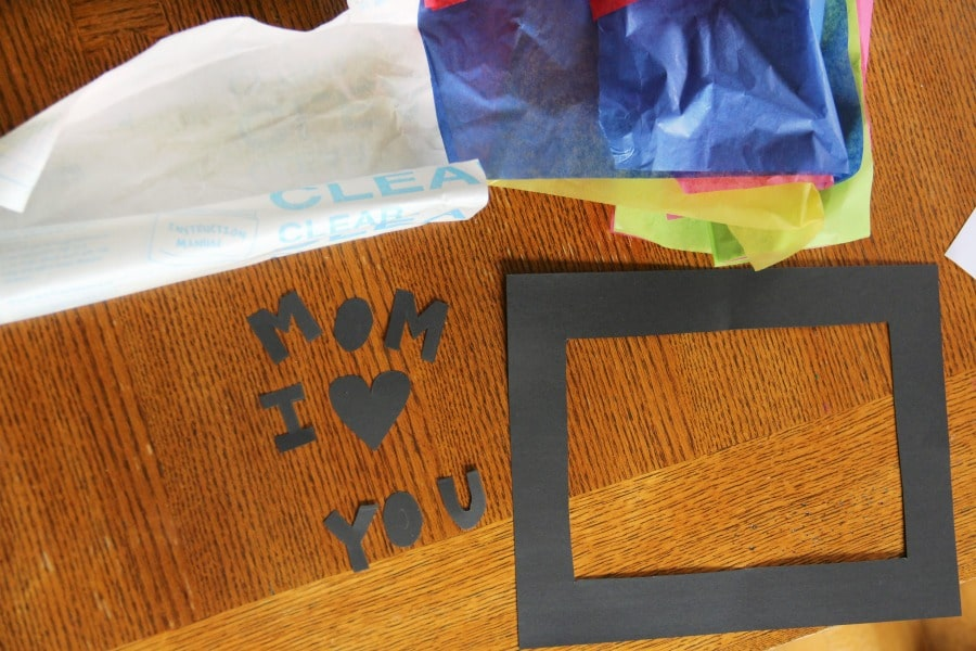 This Mother's Day suncatcher craft is easy to make and kids will love giving it to their mom or grandmother.