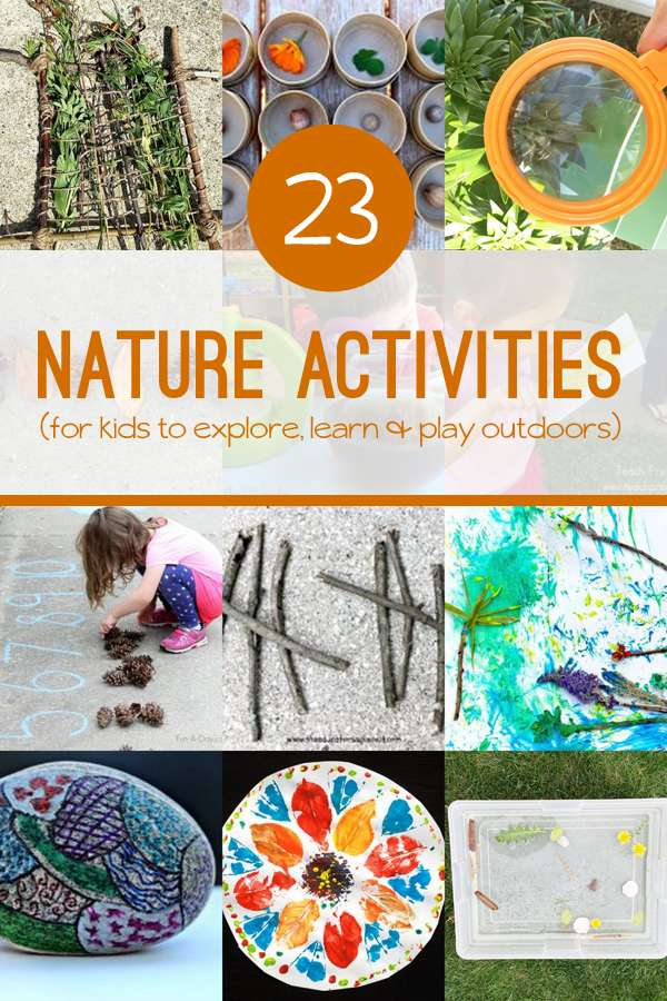 Outside Crafts For Preschoolers