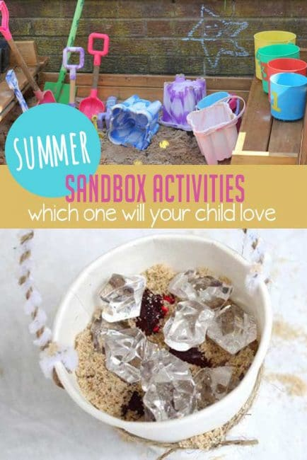 Make your sandbox extra fun with these creative sandbox activities your kids will love!