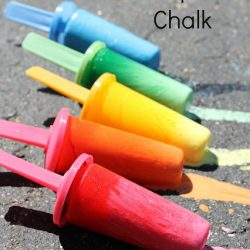 Frozen Popsicle Chalk