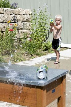 Such an easy water gun target for the kids to have fun with on a hot day