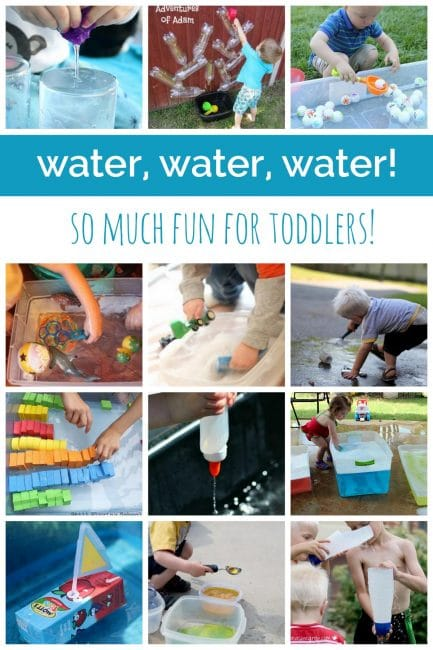 Water, Water Water Activities for Toddlers