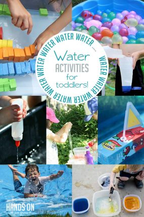 Water, Water, Water Activities for Toddlers | Hands On As We