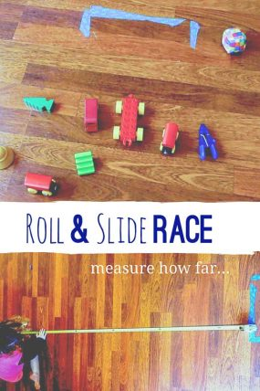 Measuring Activity: How Far Does it Roll & Slide?