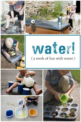 week-of-water-activities