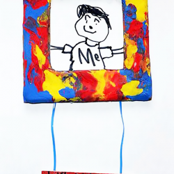 First day of school picture - a back to school craft for kids