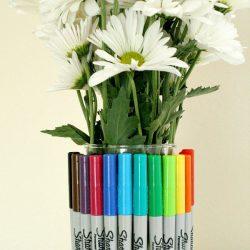 Sharpie bouquet teacher gift