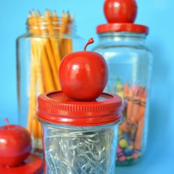 Apple jars teacher gift