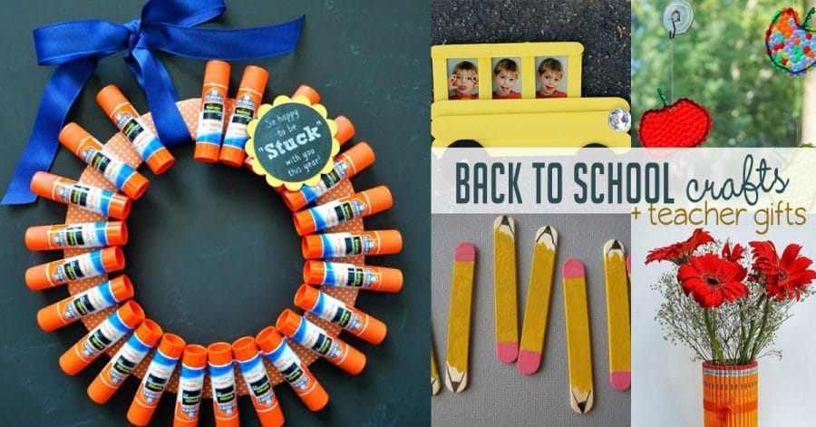 Back to School Crafts and Teacher Gifts | Hands On As We Grow®