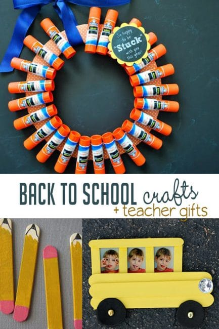 dfa2914fce76c Back to School Crafts and Teacher Gifts