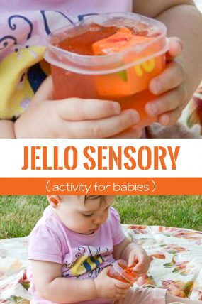 Jello Sensory Activity Perfectly Simple for Babies