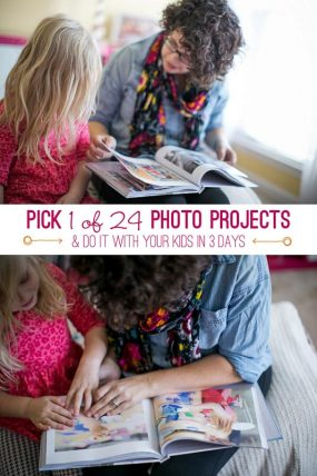 Pick a Photo Project to Do with Your Kids