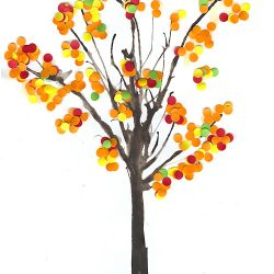 Confetti Fall Tree