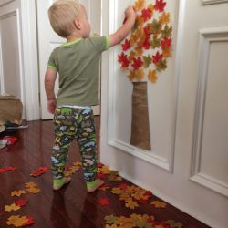 Easy Fall Tree Craft for Toddlers