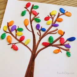 Colorful Pumpkin Seed Fall Art