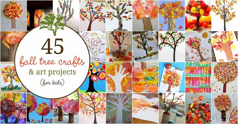 fall tree craft ideas 45 fall tree crafts that are gorgeous for to make 4427