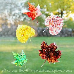 Leaf Crafts For Kids To Make