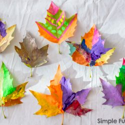 41 Stunning Leaf Crafts For Kids To Make
