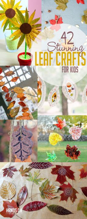 42 Stunning Leaf Crafts for Kids to Make | Hands On As We Grow®