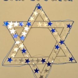 Sticker Star of David