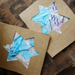 Tinfoil Star of David Cards