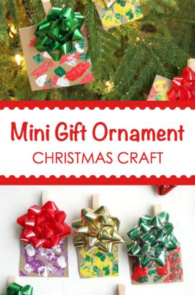 Mini Gift Christmas Ornament Craft