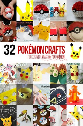 32 Pokémon Crafts for Kids that have a passion for Pokémon