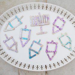 Popsicle Dreidel Craft for Kids