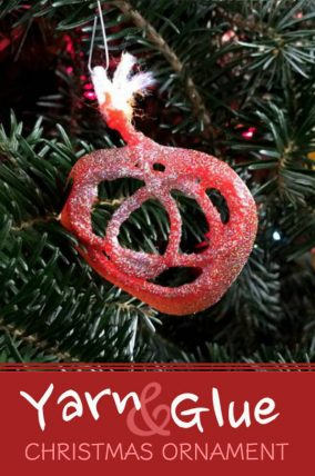 Make this simple DIY Christmas ornament with your toddler or preschooler.