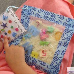 Rice Sensory Bag