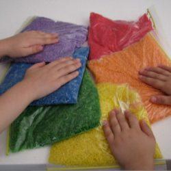 Rainbow Rice Bags