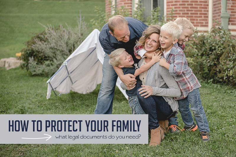 How to protect your family with easy legal documents.