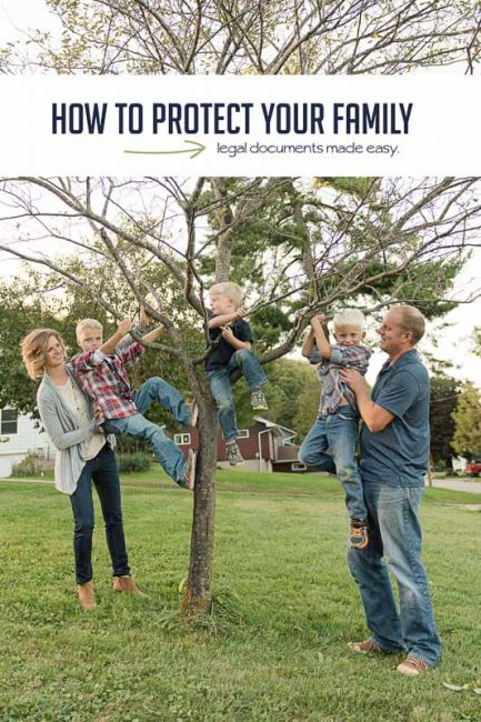 How To Actually Protect Your Family Hands On As We Grow - Easy legal documents