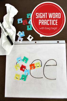 Practice Sight Words with simple everyday objects