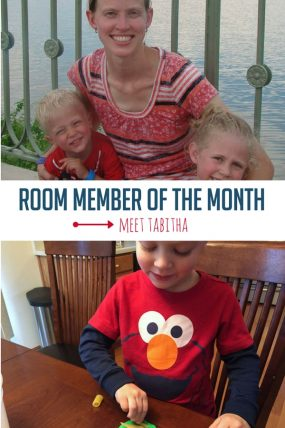 Meet the Activity Room Member of the Month