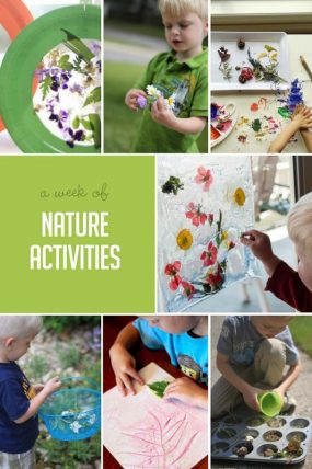 A Week of Nature Activities to Do