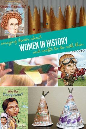 Women History Books With Corresponding Kids Activities