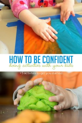 confidence as a hands-on parent