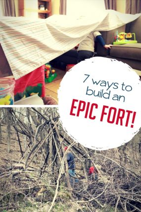 How Do You Build a Fort? 7 Epic Forts for Kids